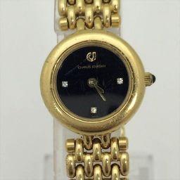 CHARLES JOURDAN(シャルルジョルダン) 腕時計 3463 ブラック ステンレススチール(SS) クォーツ レディース