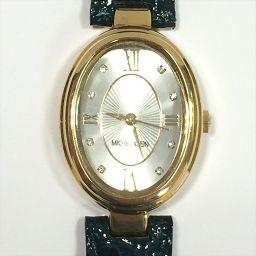 MICHEL KLEIN(ミッシェルクラン) 腕時計 PC21-Y400 白 クォーツ レディース 【中古】 腕時計 all shop ok1