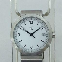 カルバンクライン 腕時計 白 クオーツ 男女兼用 【中古】 腕時計 all shop