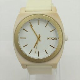 NIXON(ニクソン) 腕時計 ホワイト ラバー クォーツ レディース 【中古】 腕時計 all shop IS1