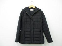 DA TRUSSARDI(ダトラサルディ) 中綿コート 42 黒 ブラック ポリエステル 100% レディース【中古】アパレル 服 net