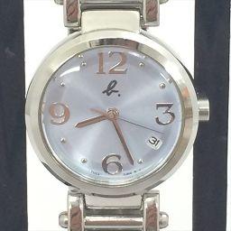 アニエスベー 時計 7N82-0DW0 水色 ステンレススチール(SS) クオーツ レディース 【中古】 腕時計 all shop kn