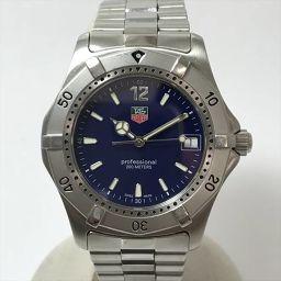 TAG HEUER(タグホイヤー) クラシック WK1113-0 ネイビー ステンレススチール(SS) クォーツ メンズ 【中古】 腕時計