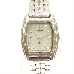 renoma レノマ クオーツ K8071L グレー ステンレススチール クオーツ レディース 【中古】 腕時計 all shop AJ3