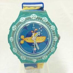 スウォッチ 腕時計 青 プラスチック クォーツ メンズ 【中古】 腕時計 all shop