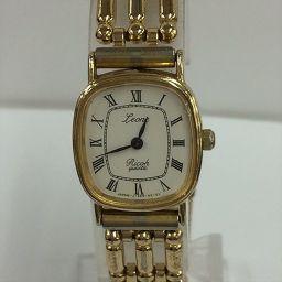 リコー リコー レディスウォッチ ゴールド 約1.7cm×1.8cm 【中古】 腕時計 all shop ok2