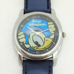 ディズニー ドナルド V501-0010 ステンレススチール(SS) クォーツ レディース 【中古】 腕時計 all shop IS2