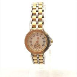 トラサルディ TR7512 白 ステンレススチール クオーツ レディース 【中古】 腕時計 all shop og