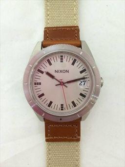 ニクソン グレー クォーツ メンズ 【中古】 腕時計 all shop