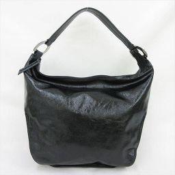 FURULA(フルラ) ショルダーバッグ 黒 ブラック レザー/ 【ブランドバッグ】【中古】nb all shop net2