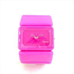 ニクソン THE VEGA ビビットピンク プラスチック クォーツ レディース 【中古】 腕時計 all shop