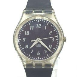 スウォッチ クォーツ ボーイズ 青 クォーツ ボーイズ 【中古】 腕時計 all shop sz2