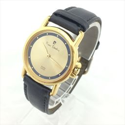 PIERRE CARDIN(ピエールカルダン) 腕時計 ゴールド×紺 クオーツ レディース 【中古】 腕時計 all shop hd