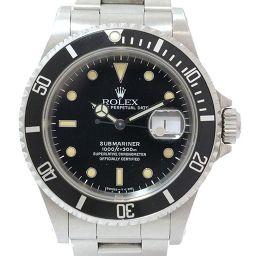 ROLEX(ロレックス) サブマリーナ 16610 N番 ブラック 黒文字盤 ステンレススチール(SS) オートマティック(自動巻き)