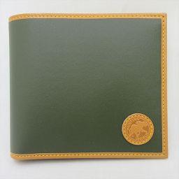 HUNTING WOLD(ハンティングワールド) 二つ折り財布 カーキ / 【ブランドバッグ】【中古】nb all shop net2