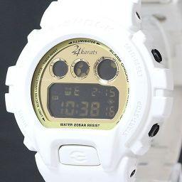 【大幅値下げ!!】CASIO G-SHOCK×24karats コラボデジタル腕時計 DW-6900FS ウレタン/SS クオーツ メンズ 白 ホワイト
