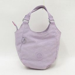 Kipling(キプリング) 2WAYバッグ/ショルダーバッグ/ミニバッグ/ハンドバッグ 薄紫 ナイロン/ 【ブランドバッグ】