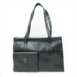 FURULA(フルラ) ショルダーバッグ/トートバッグ 黒 ブラック / 【ブランドバッグ】【中古】nb all shop net2