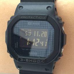 G-SHOCK(ジーショック) クォーツ 黒文字盤 ステンレススチール(SS)/ラバーベルト メンズ 【中古】 腕時計 all shop