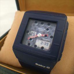 CASIO(カシオ) ベビーG BGA-200DT 青/水玉 クォーツ メンズ 【中古】 腕時計 all shop hm1