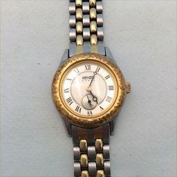 KENZO クオーツ時計 KN-7504 ゴールド クオーツ 【中古】 腕時計 all shop  ns