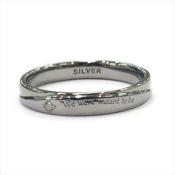 THE KISS SVダイヤリング #13 2.3g SR6078 13号 シルバー(SILVER) ジュエリー all shop KG