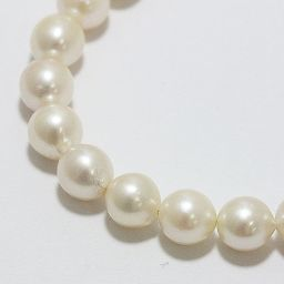 【Great price cut !!】 SILVER Pearl Akoya Necklace Pearl Necklace Silver [Used Jewelry] [New item