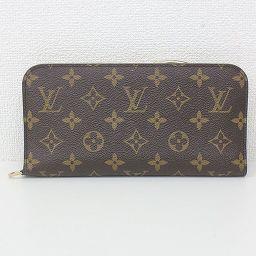 【Large price cut !!】 LOUIS VUITTON (Louis Vuitton) Monogram Portofoille Antholit Double fold wallet M66563 white