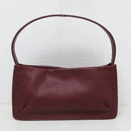 【Great price cut !!】 COACH (coach) 9468 Semi-shoulder bag Leather Bordeaux [pre-owned] [Brand bag]