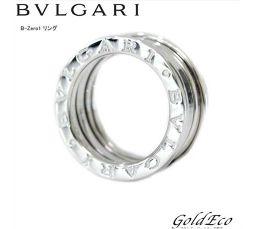 BVLGARI【ブルガリ】B-zero1 リング K18 750WG#47 約7号 指輪ホワイトゴールド ジュエリー【新品仕上げ済】【中古】