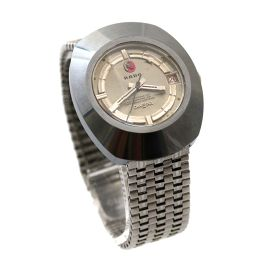 RADO automatic self-winding diamond star watch automatic winding silver men [pre]