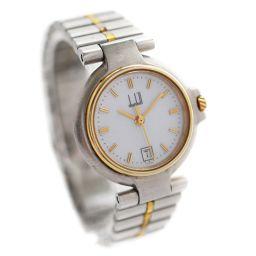 Dunhill ダンヒル ミレニアム 腕時計 ホワイト文字盤 クオーツ コンビカラー レディース【中古】