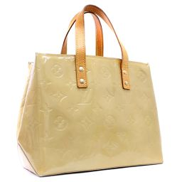 LOUIS VUITTON Louis Vuitton Lead PM Verni M91144 Handbag Monogram Verni Beige Women's [pre]