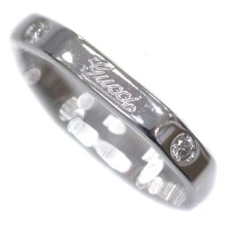 GUCCI グッチ オクタゴナル 2Pダイヤモンド リング・指輪 K18ホワイトゴールド ジュエリー 8号 ホワイトゴールド レディース【中古】