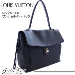 LOUIS VUITTON【ルイ ヴィトン】 ロックミーPM トートバッグ ハンドバッグ ショルダーバッグ M54008 ブラック 黒