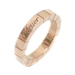 CARTIER カルティエ ラニエール リング・指輪 K18ピンクゴールド ジュエリー 6号 PG レディース【中古】