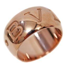 BVLGARI ブルガリ モノロゴ リング・指輪 K18ピンクゴールド 12.5号 ピンクゴールド ユニセックス【中古】