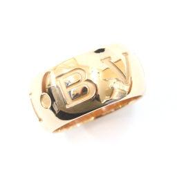 BVLGARI ブルガリ モノロゴ リング・指輪 K18ピンクゴールド ジュエリー 12号 ピンクゴールド ユニセックス【中古】