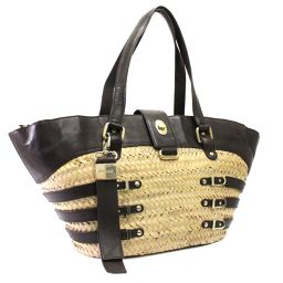 JIMMY CHOO Jimmy Cho basket bag tote bag straw / leather natural leather women [pre]
