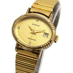 RADO Rado Antique 561.7969.2 Watch Gold Dial Automatic Watch Gold Women's 【Used】