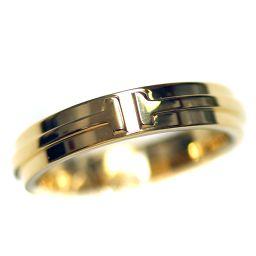 TIFFANY&Co. ティファニー T TWO リング・指輪 K18イエローゴールド ジュエリー 19号 YG ユニセックス【中古】