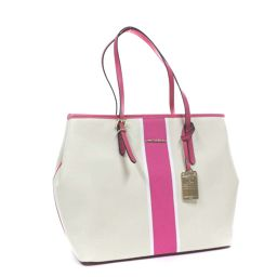 Samantha Tiara Samantha Tiara Samantha & Shwe Tote Bag Canvas Ivory Pink Ladies [Pre]