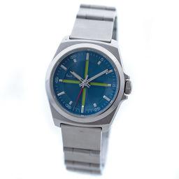 Paul Smith ポール・スミス ボーイズサイズ PWA42-5680SS 腕時計 ブルー文字盤 クオーツ シルバー レディース【中古】
