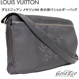 LOUIS VUITTON 【Louis Vuitton】 Damier Juan Mejage NM Diagonal Shoulder Bag M93225 Noir Black