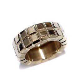 Chopard ショパール アイスキューブリング 2ライン リング・指輪 K18イエローゴールド ジュエリー 7号 ゴールド ユニセックス【中古】