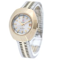 RADO Rado Diamond Star Watch Silver Dial Automatic Winding Silver Gold Women [Pre]