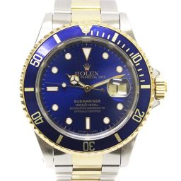 ROLEX ロレックス サブマリーナ  デイト 青サブ 16613LB S番/93年頃製 腕時計 ブルー文字盤 自動巻き SS/YG メンズ【中古】