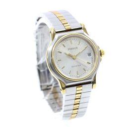 TISSOT Tissot Seastar Watch Silver Dial Quartz Combi Silver Ladies [Used]