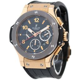 HUBLOT Hublot Big Bang Limited Edition of the World 301.PT.130.RX Watch Black Dial Automatic Winding Pink Gold Black Men [Used]