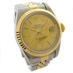 ROLEX ロレックス デイトジャスト 69173 / X番 腕時計 自動巻き シルバー ゴールド レディース【中古】